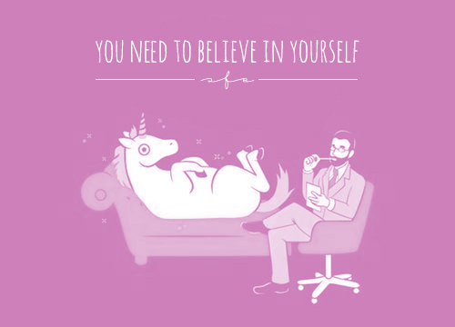 "GOOD INTENTIONS #1 ""YOU NEED TO BELIEVE IN YOURSELF"""
