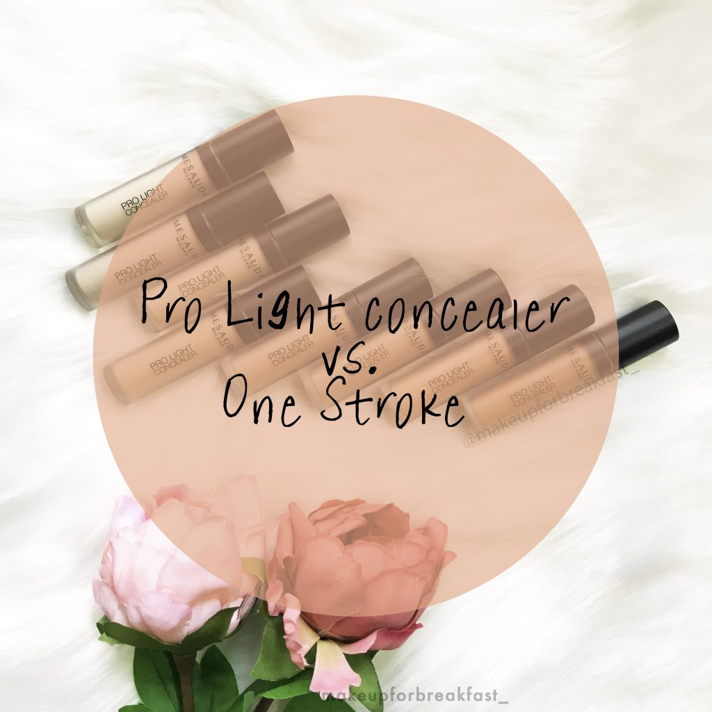 Review dei correttori Pro light concealer Vs One Stroke