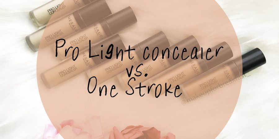 Pro light concealer Vs One Stroke